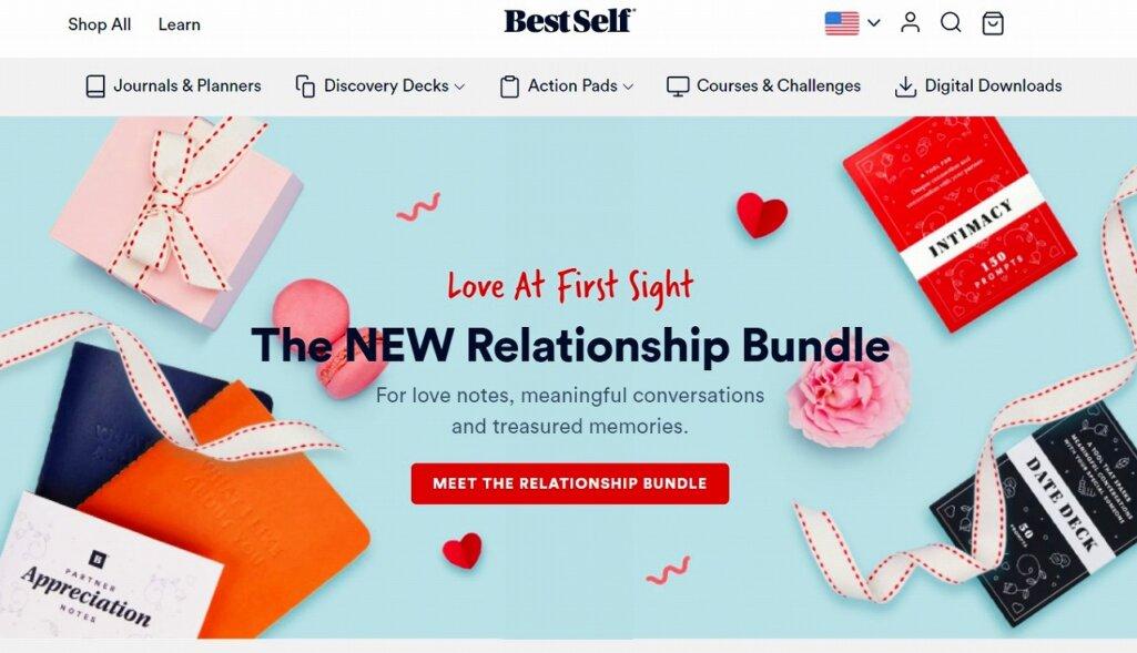Shopify導入の成功事例3:BestSelf Co.