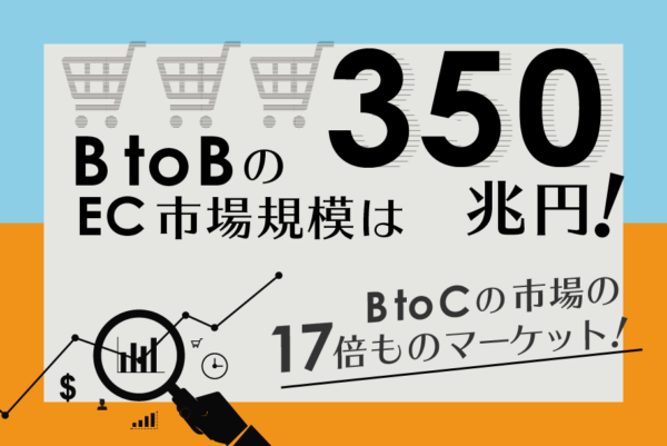 BtoBのECサイトの市場規模はどのくらい?これからも伸びる?